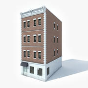 Apartment Building 2 3d model