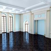 Classic Blue Room 3d model