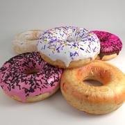 甜甜圈 3d model