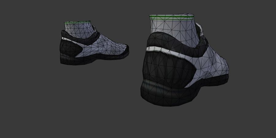Sports Sneakers 01_i royalty-free 3d model - Preview no. 6