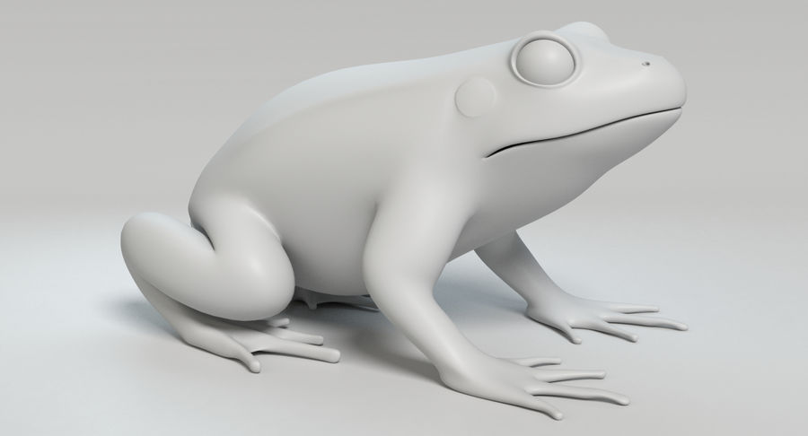 Frog royalty-free 3d model - Preview no. 10