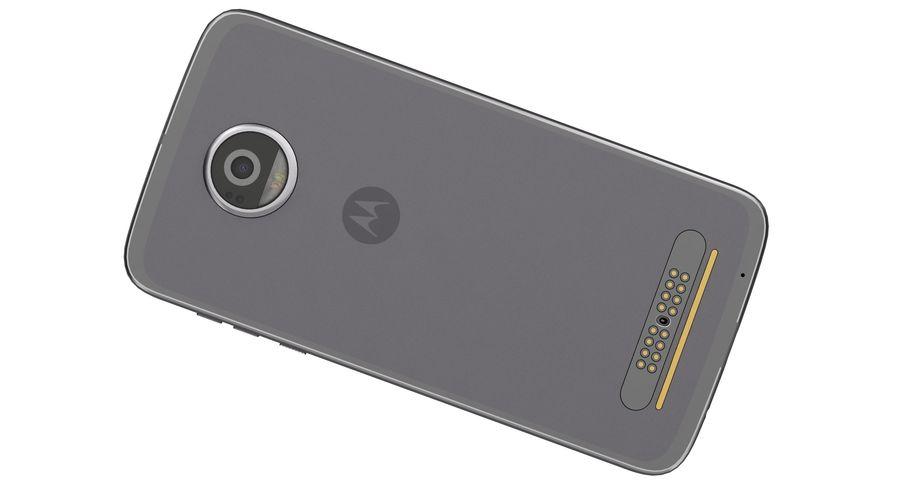 Motorola Moto Z2 Play Lunar Gray royalty-free 3d model - Preview no. 13