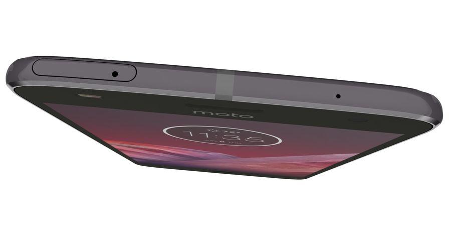 Motorola Moto Z2 Play Lunar Gray royalty-free 3d model - Preview no. 14