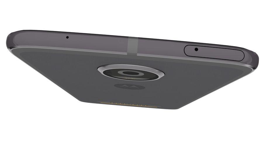 Motorola Moto Z2 Play Lunar Gray royalty-free 3d model - Preview no. 15