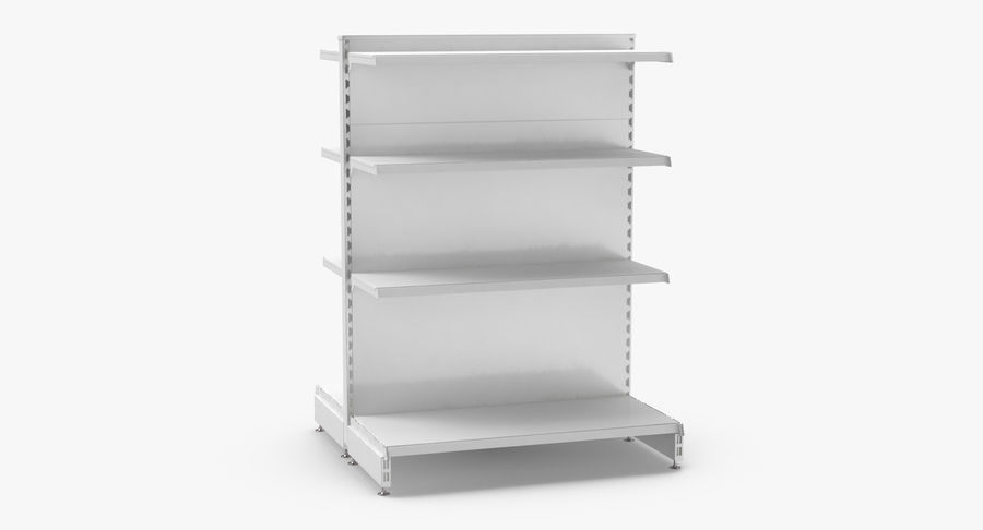 Retail Shelf 02 3D Model $44 -  max  c4d  upk  unitypackage  ma  obj