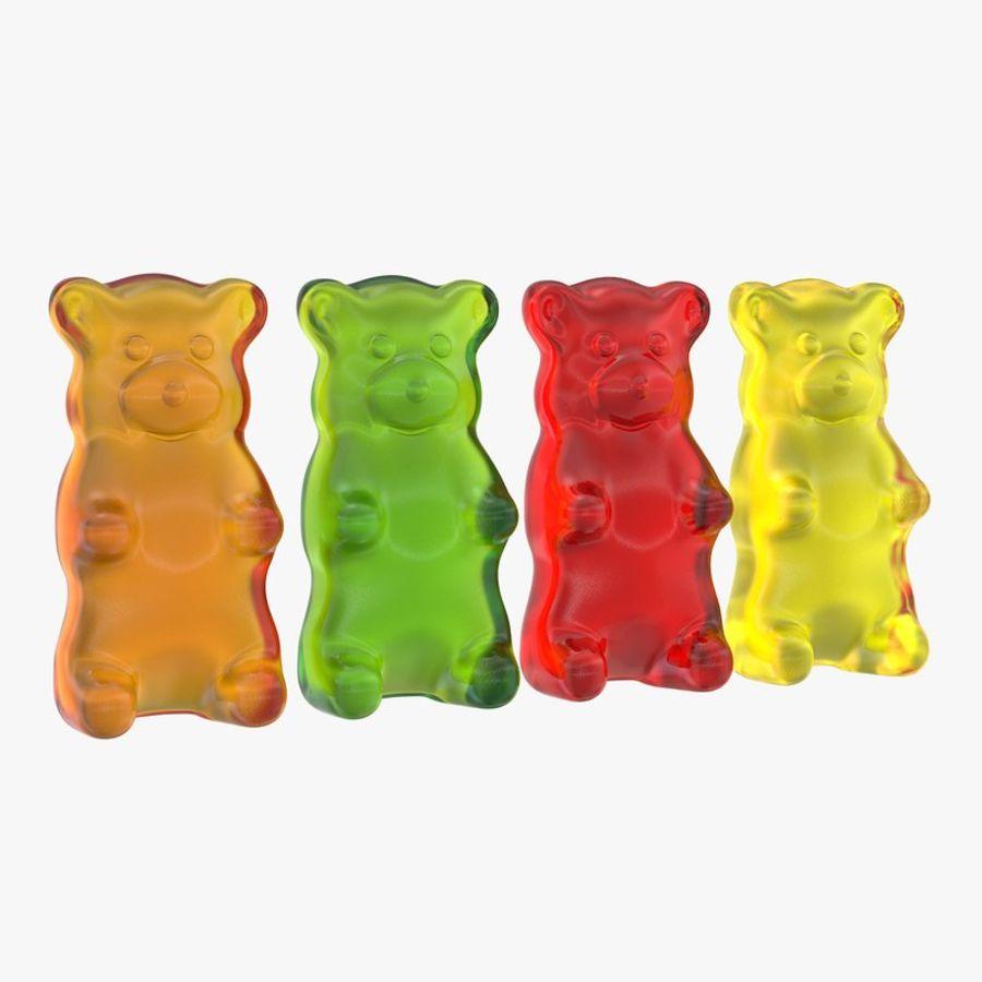 Gummy Bears 3D Model $49 - .obj .max .fbx - Free3D