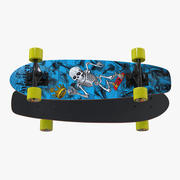 Kicktail-Skateboard 3d model