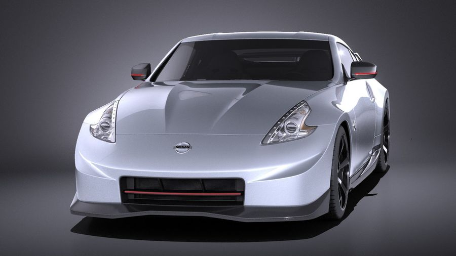 Nissan 370z Nismo 2014 VRAY royalty-free 3d model - Preview no. 2