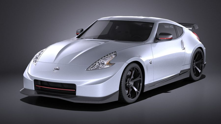 Nissan 370z Nismo 2014 VRAY royalty-free 3d model - Preview no. 1
