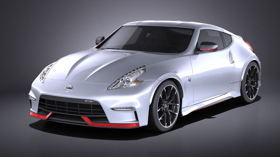 Nissan 370z Nismo 2017 VRAY royalty-free 3d model - Preview no. 1