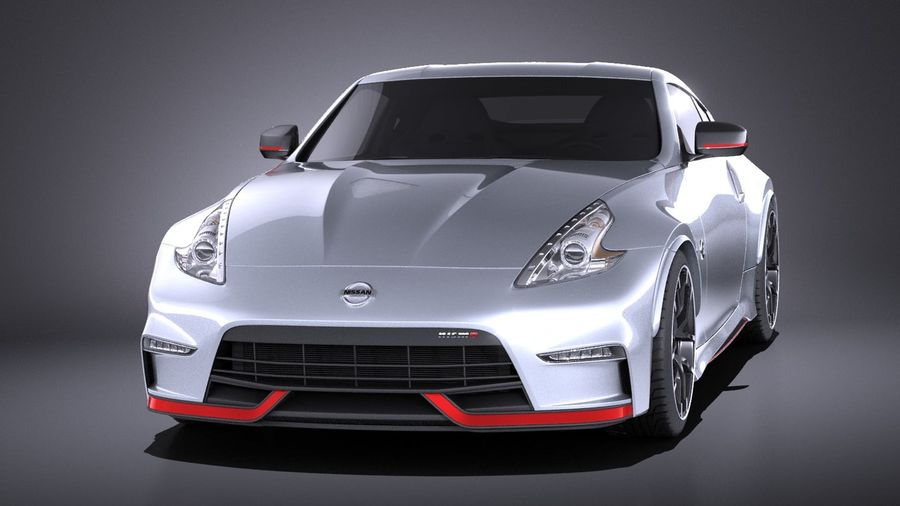 Nissan 370z Nismo 2017 VRAY royalty-free 3d model - Preview no. 2