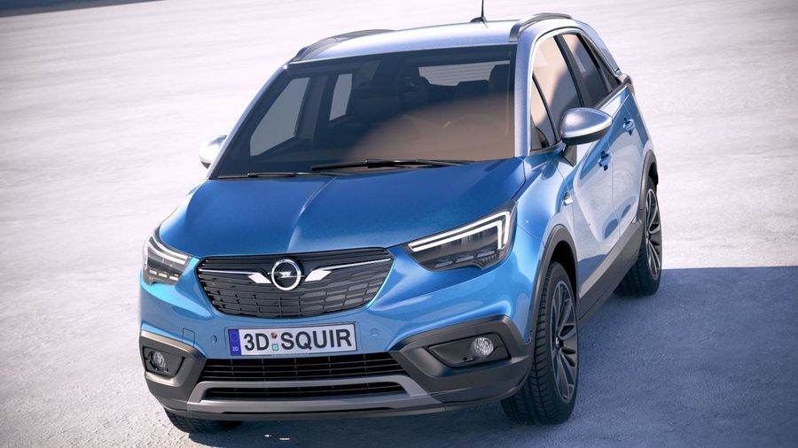 opel crossland x 2021  car wallpaper