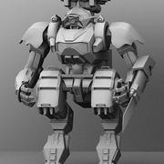 Armored Transport Mech 3d model