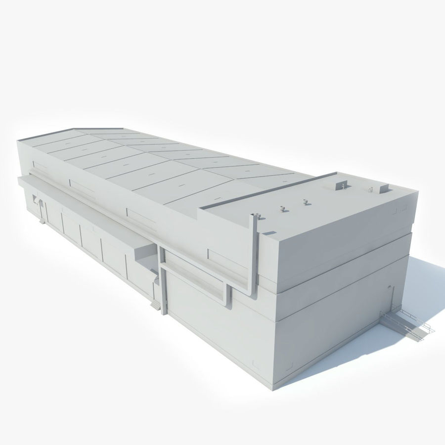 Warehouse 1 royalty-free 3d model - Preview no. 13