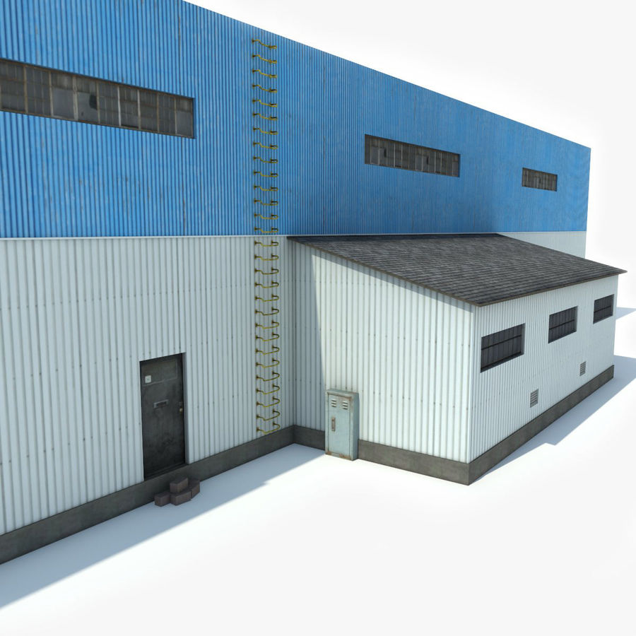 Warehouse 1 royalty-free 3d model - Preview no. 5
