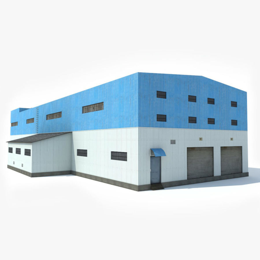 Warehouse 1 royalty-free 3d model - Preview no. 9
