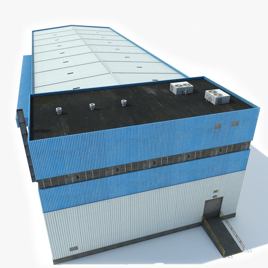 Warehouse 1 royalty-free 3d model - Preview no. 6
