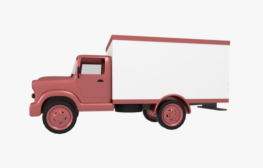 un camion royalty-free 3d model - Preview no. 1