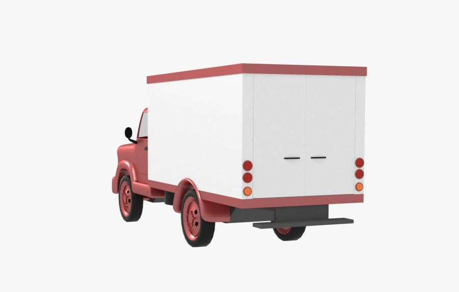 un camion royalty-free 3d model - Preview no. 4