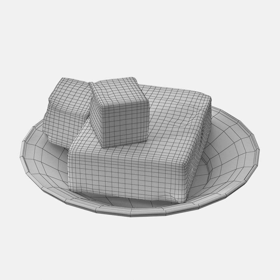 Butter royalty-free 3d model - Preview no. 15