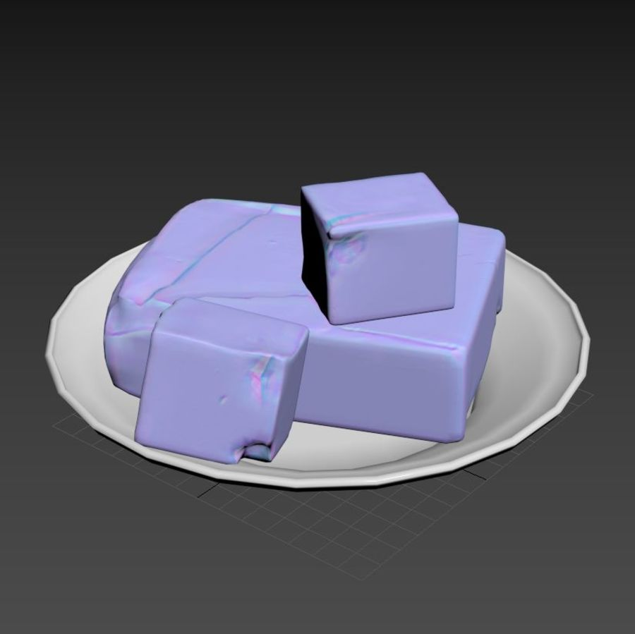 Butter royalty-free 3d model - Preview no. 22
