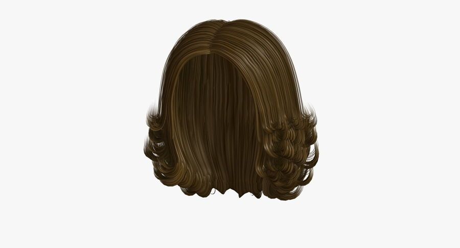 Hairstyle 8 3d Model 19 X Obj 3ds Free3d