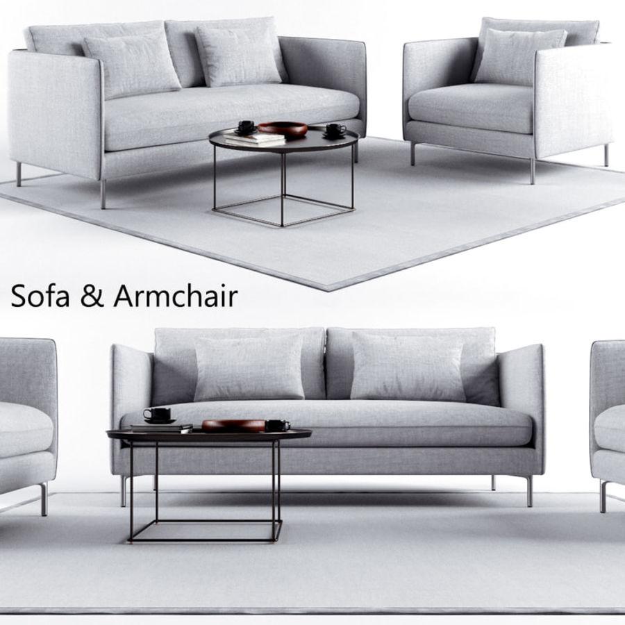 Sofa set 1 3D Model $15 - .max - Free3D