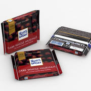 Ritter Sport Dark Whole Hazelnuts 3d model