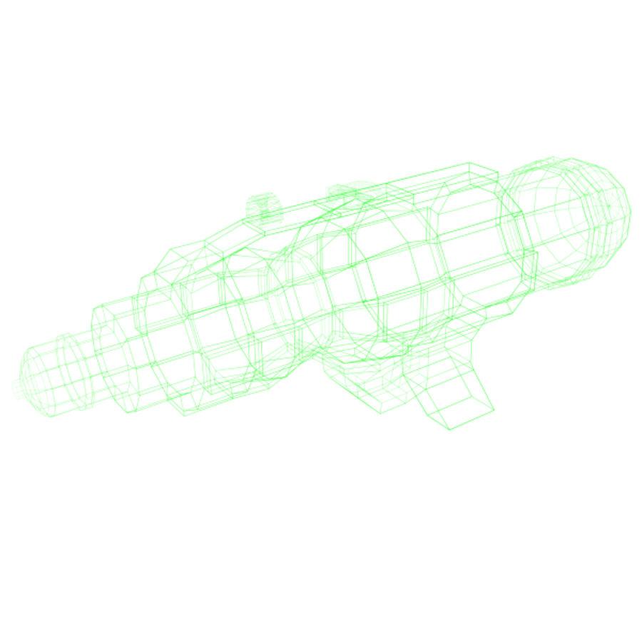 Arma De Agua royalty-free 3d model - Preview no. 2