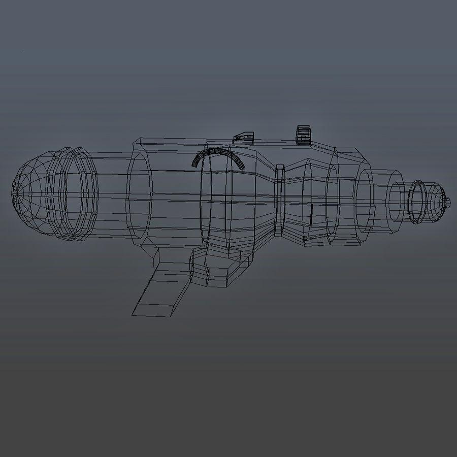 Arma De Agua royalty-free 3d model - Preview no. 5