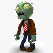 Zombie Plants vs Zombies 3d model