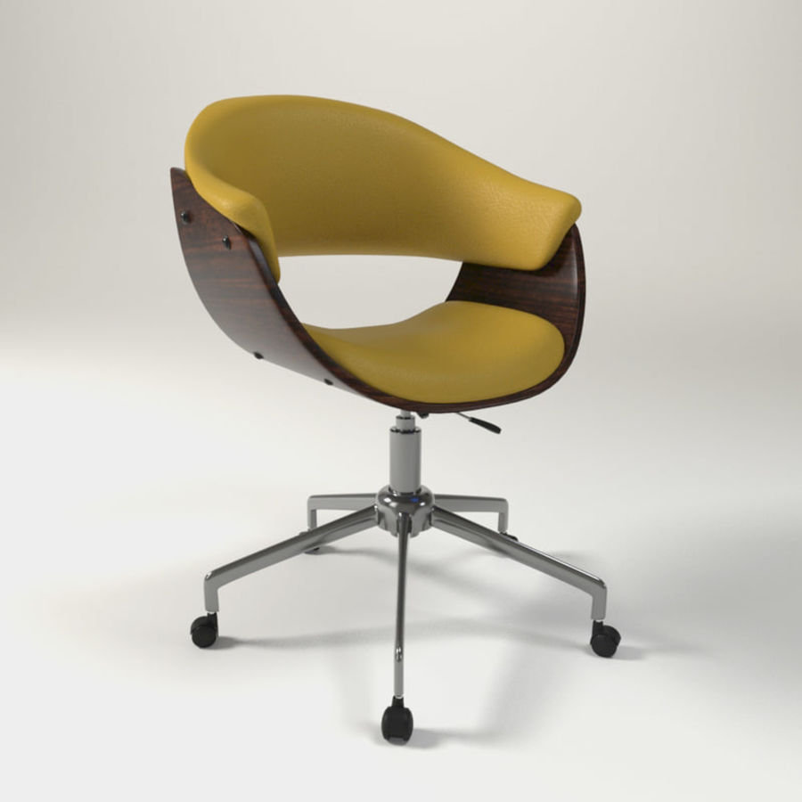 art deco office chair. Art Deco Office Chair. Chair Royalty-free 3d Model - Preview No A