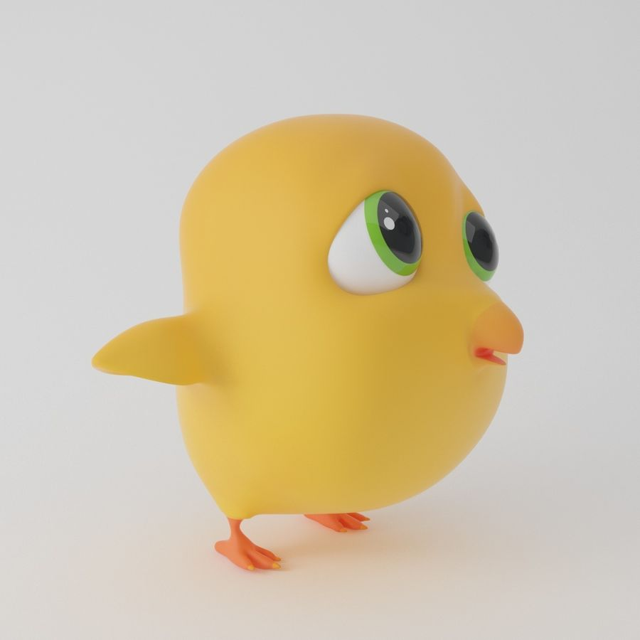 Pulcino giallo del costume della mascotte uccello personalizzato
