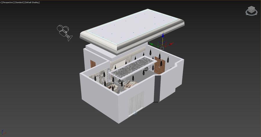 Classic Architecture Scene Revit royalty-free 3d model - Preview no. 14