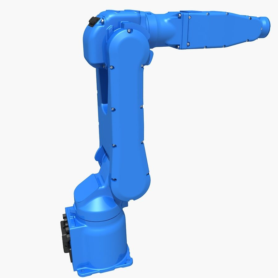 YASKAWA MH5LS Industrial Robot royalty-free 3d model - Preview no. 4