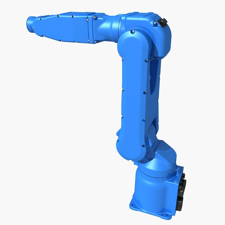YASKAWA MH5LS Industrial Robot royalty-free 3d model - Preview no. 2