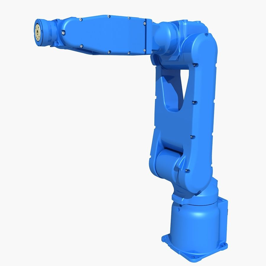 YASKAWA MH5LS Industrial Robot royalty-free 3d model - Preview no. 1