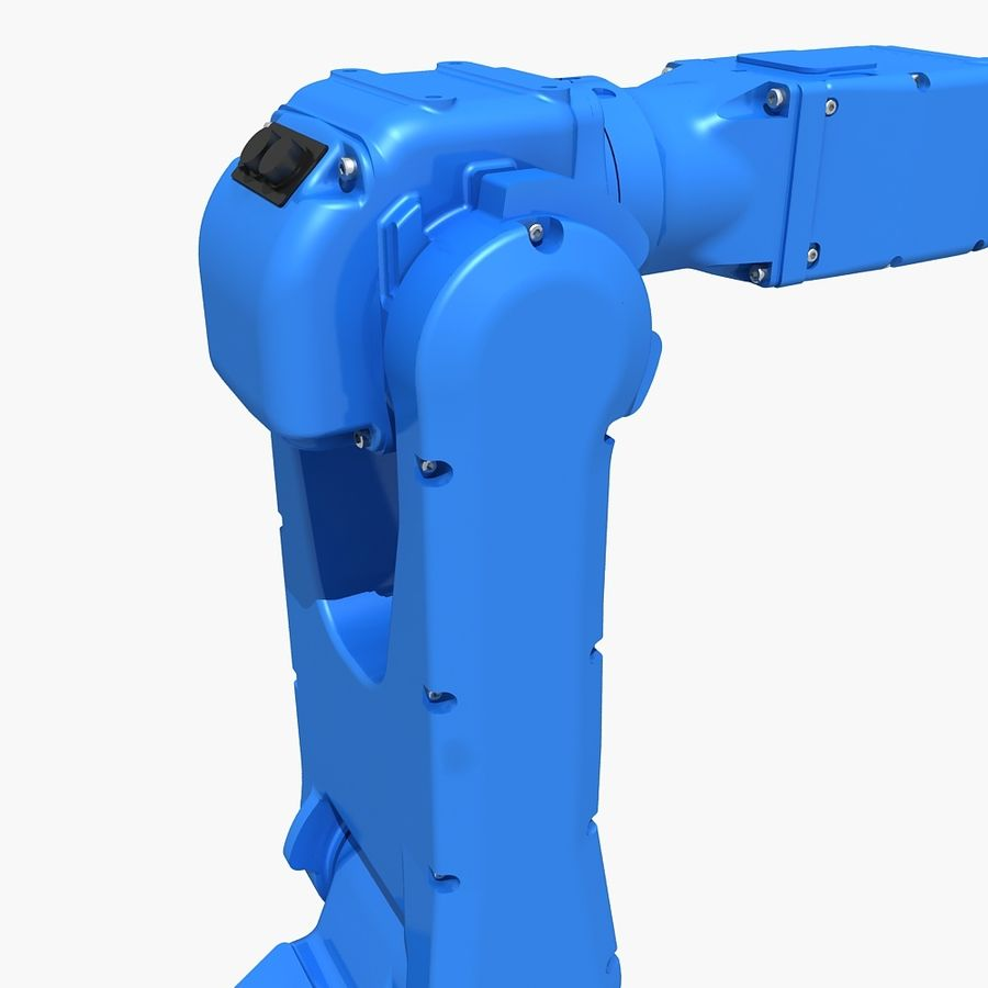 YASKAWA MH5LS Industrial Robot royalty-free 3d model - Preview no. 8