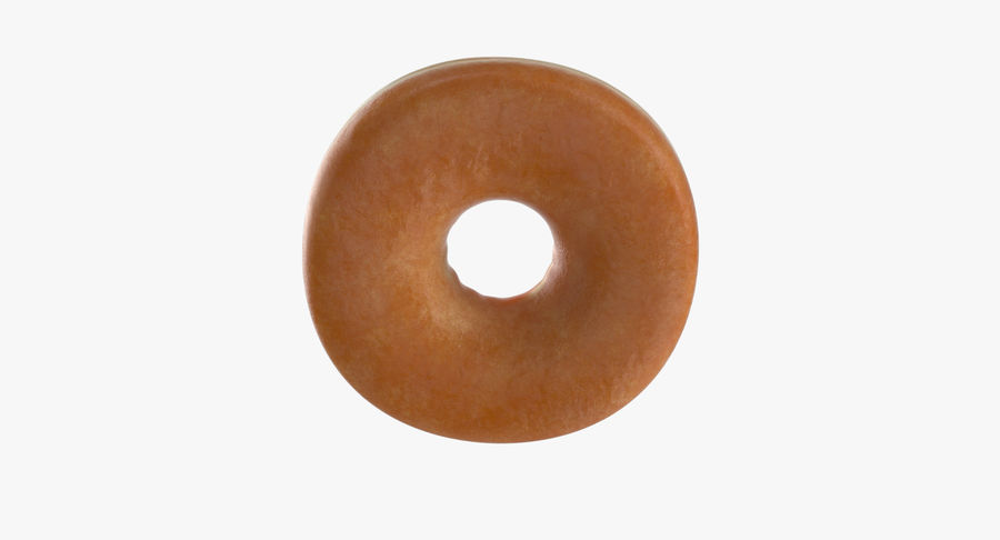 Donut 04 - Plain royalty-free 3d model - Preview no. 10