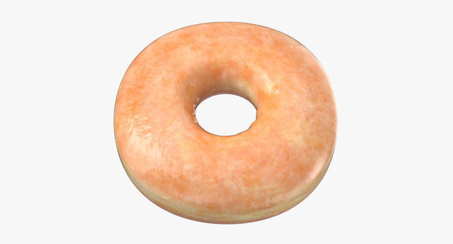 Donut 04 - Plain royalty-free 3d model - Preview no. 2
