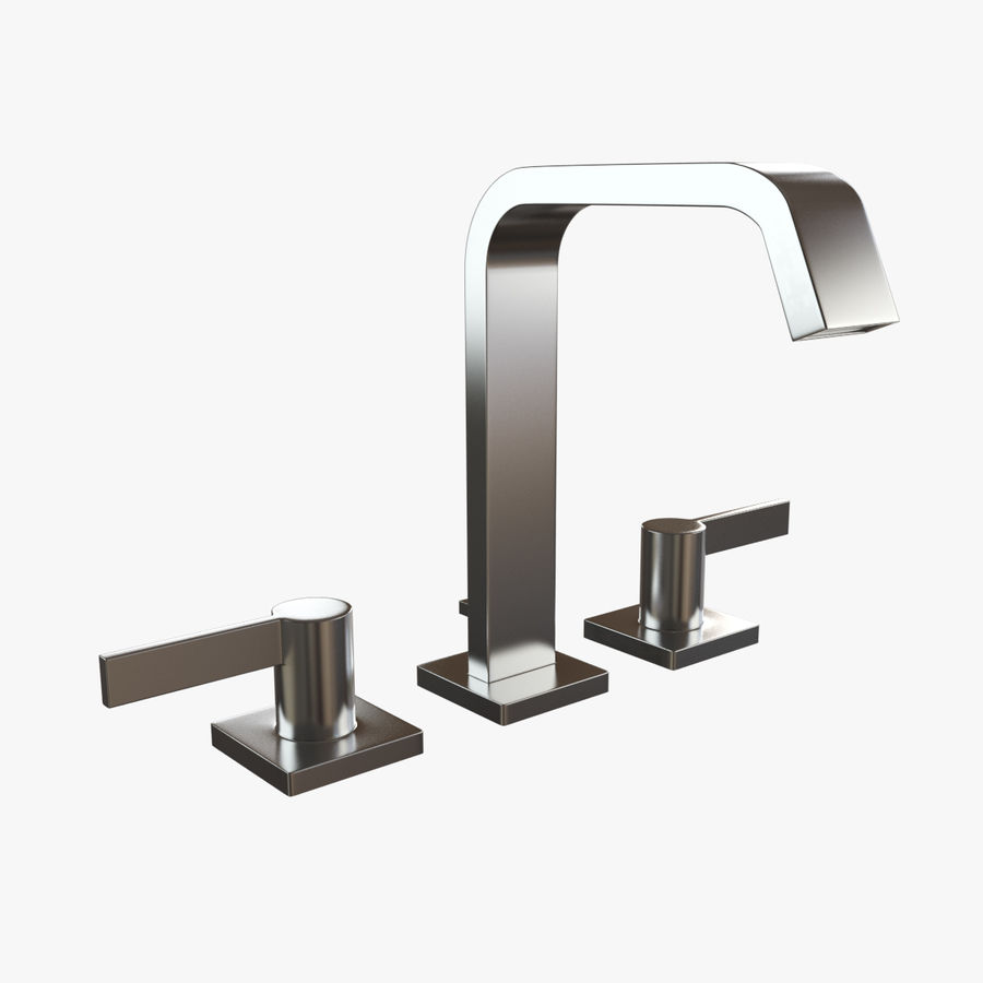 IMO Basin Mixer Set royalty-free 3d model - Preview no. 7