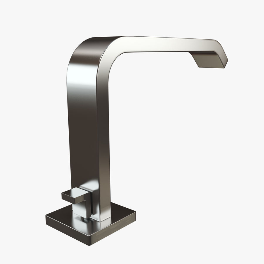 IMO Basin Mixer Set royalty-free 3d model - Preview no. 3