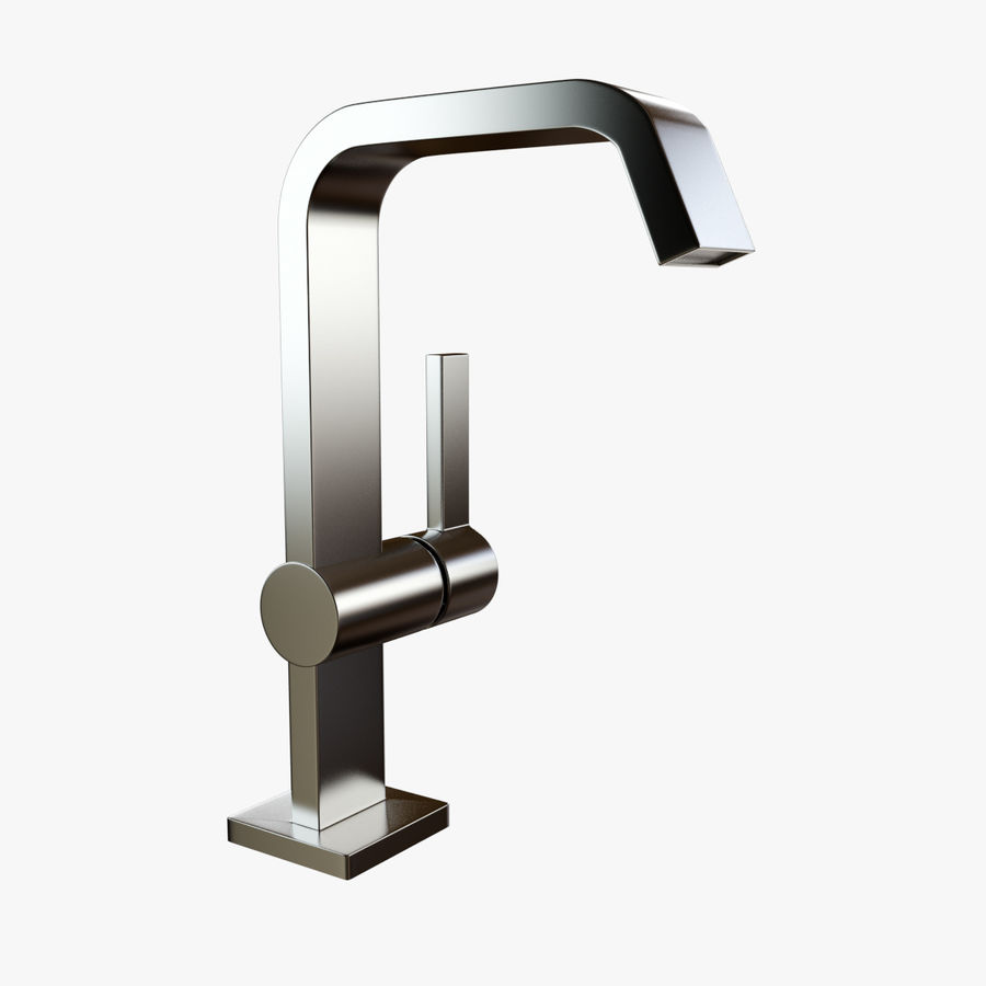 IMO Basin Mixer Set royalty-free 3d model - Preview no. 19