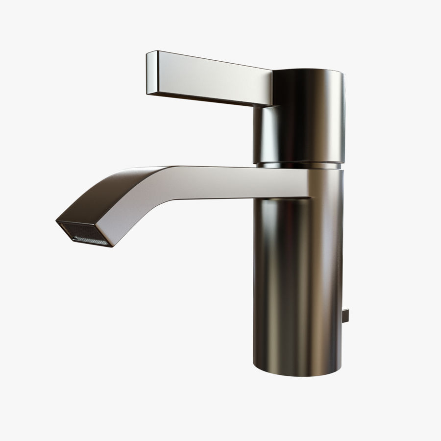 IMO Basin Mixer Set royalty-free 3d model - Preview no. 13
