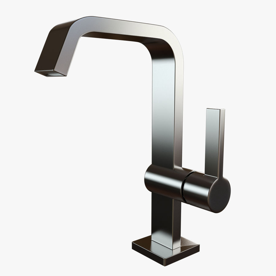 IMO Basin Mixer Set royalty-free 3d model - Preview no. 21