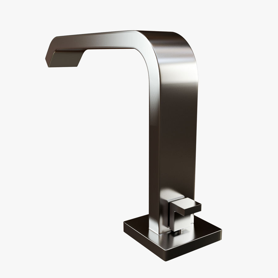 IMO Basin Mixer Set royalty-free 3d model - Preview no. 4