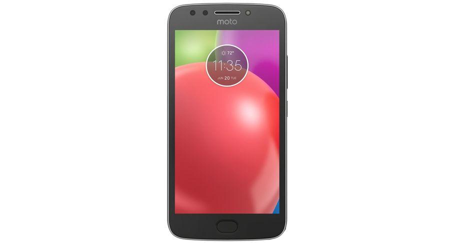 Motorola Moto E4 Licorice Black royalty-free 3d model - Preview no. 9