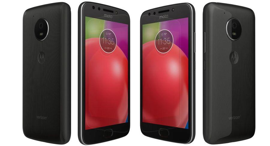 Motorola Moto E4 Licorice Black royalty-free 3d model - Preview no. 6