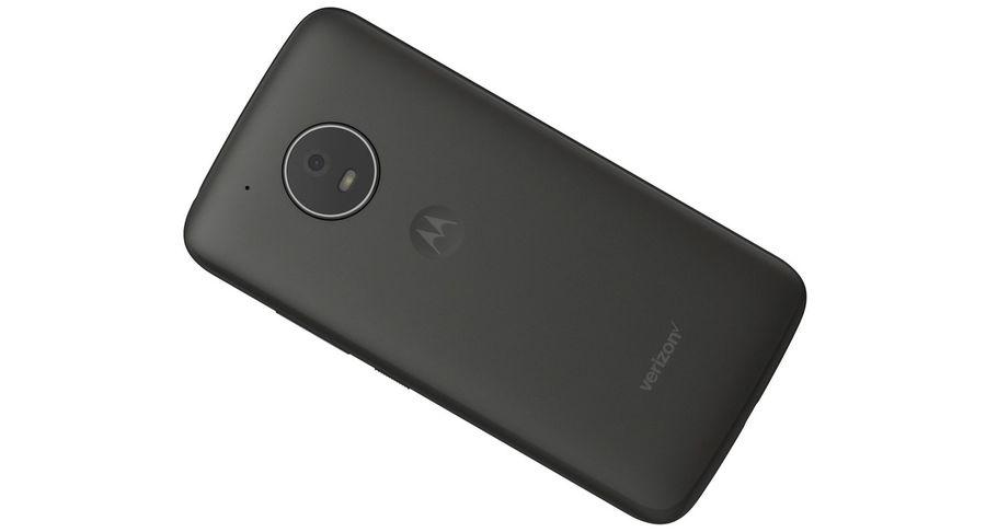 Motorola Moto E4 Licorice Black royalty-free 3d model - Preview no. 13