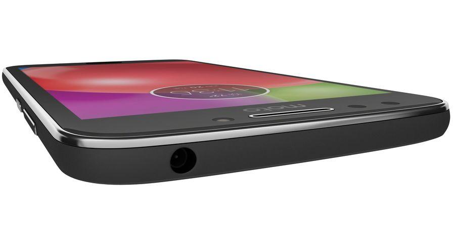 Motorola Moto E4 Licorice Black royalty-free 3d model - Preview no. 20